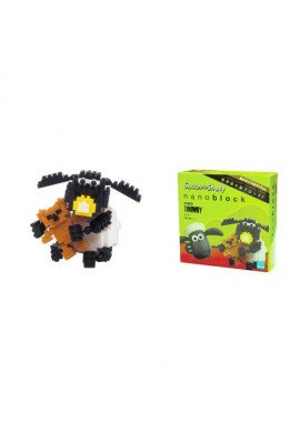 Kawada Nanoblock Sights to See Shaun the Sheep Timmy