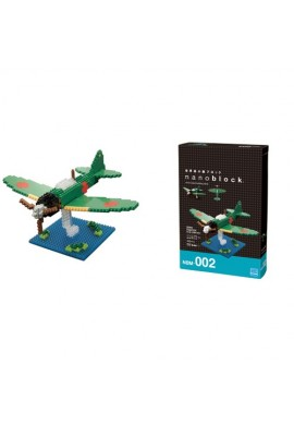 Kawada Nanoblock Advanced Hobby Zero Fighter