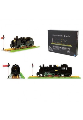 Kawada Nanoblock Advanced Hobby Steam Locomotive