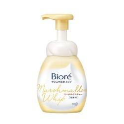 Biore Kao Marshmallow Whip Face Wash Cleansing Foam Smooth Rich Moisture