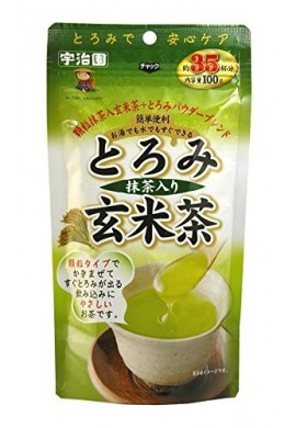 Ujien Toromi Roasted Rice Tea with Matcha