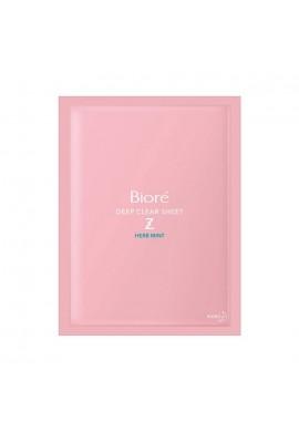 Biore Z Deep Clear Sheet Herb Mint