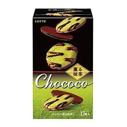 Lotte Chococo Matcha