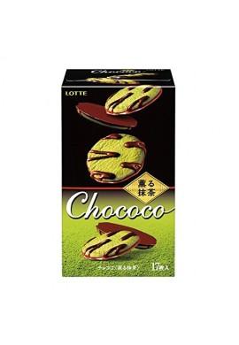 Azjatyckie słodycze Lotte Chococo Matcha