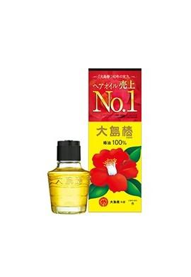 Azjatyckie kosmetyki Oshima Tsubaki Hair Oil 100% Camelia Oil