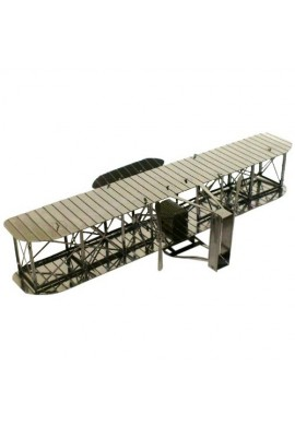 Tenyo Metallic Nano Puzzle Wright Flyer