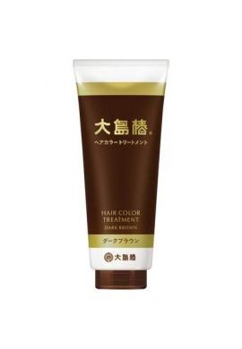 Oshima Tsubaki Hair Color Treatment Dark Brown