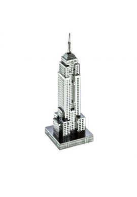 Tenyo Metallic Nano Puzzle Empire State Building