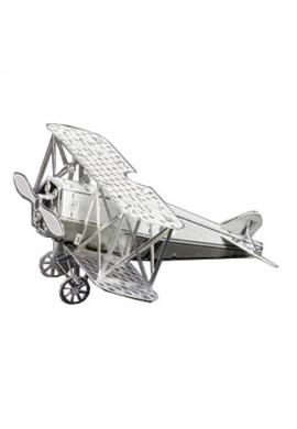 Tenyo Metallic Nano Puzzle Fokker D-VII