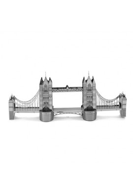 Tenyo Metallic Nano Puzzle Tower Bridge