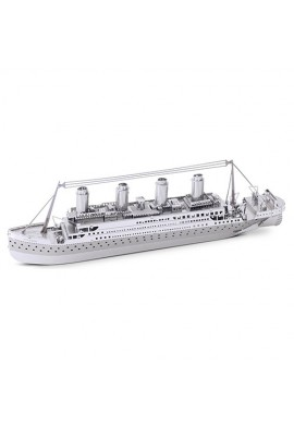 Tenyo Metallic Nano Puzzle Titanic