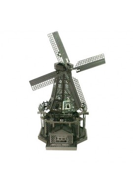 Tenyo Metallic Nano Puzzle Dutch Windmill