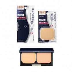 Azjatyckie kosmetyki Kanebo Media Whitening Pact UV Foundation SPF25 PA++