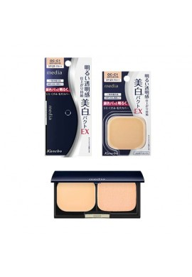 Kanebo Media Whitening Pact UV Foundation EX SPF21 PA++