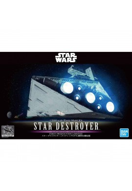 Bandai Star Wars Star Destroyer with LED 1/5000 Scale Plastic Model Kit