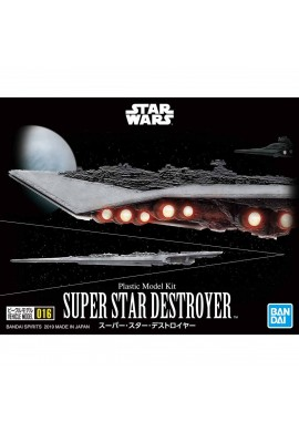 Bandai Star Wars Vehicle Model 016 Super Star Destroyer
