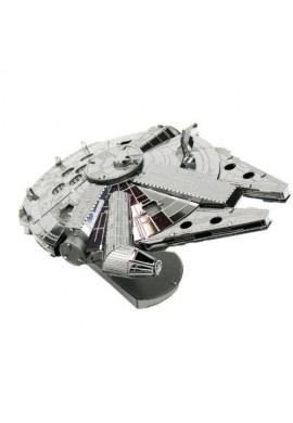 Tenyo Metallic Nano Puzzle Millennium Falcon