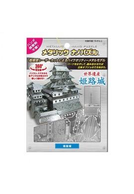 Tenyo Metallic Nano Puzzle Himeji Castle
