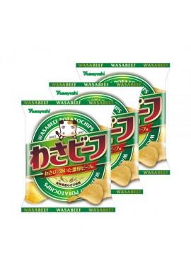 YAMAYOSHI Wasa Beef Wasabi & Beef Potato Chips
