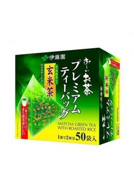 ITO EN Oi Ocha Premium Tea Bag Genmaicha with Uji Matcha 50pcs