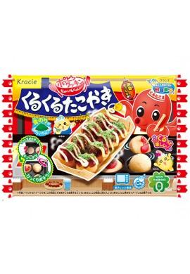 Kracie Popin Cookin Kuru Kuru Takoyaki Kit DIY