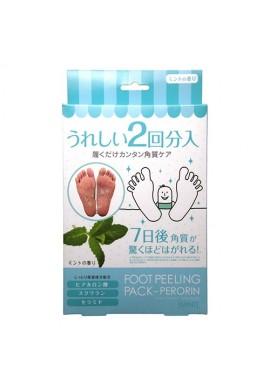 Azjatyckie kosmetyki Sosu Foot Peeling Pack Perorin Mint
