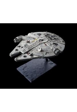 Bandai Star Wars Millennium Falcon (Star Wars: The Rise of Skywalker) 1/144 Scale Plastic Model Kit