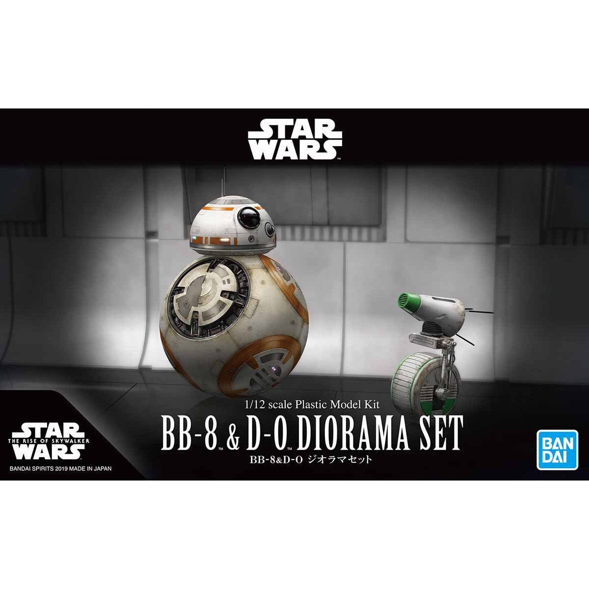 Bandai Star Wars R4-M9 1//12 Scale Kit Plastic Model Kit Japan