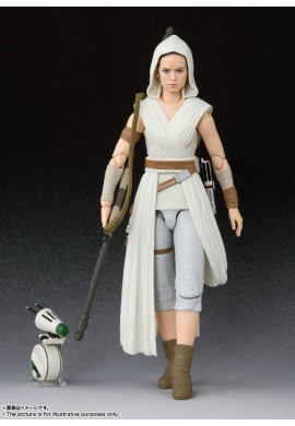 Bandai S.H.Figuarts Rey & D-O STAR WARS: The Rise of Skywalker
