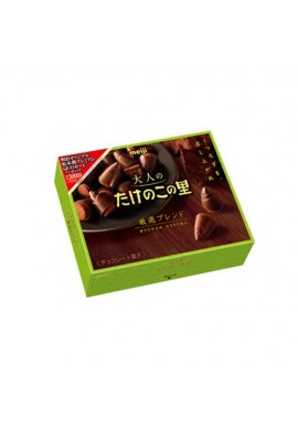 Azjatyckie słodycze Meiji Otonano Takenoko No Sato Chocolate