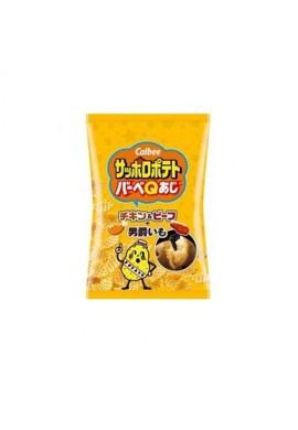 Azjatyckie przekąski Snack Calbee Sapporo Potato BBQ