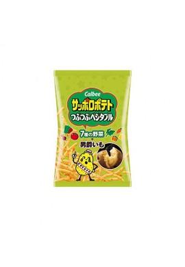 Azjatyckie przekąski Snack Calbee Sapporo Potato Pebbly (Vegetables)
