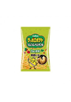 Snack Calbee Sapporo Potato Pebbly (Vegetables)
