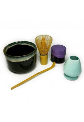 Azjatyckie herbaty MatchaAccessories Set with Matcha