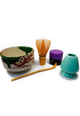 Azjatyckie herbaty Matcha Accessories Set with Matcha