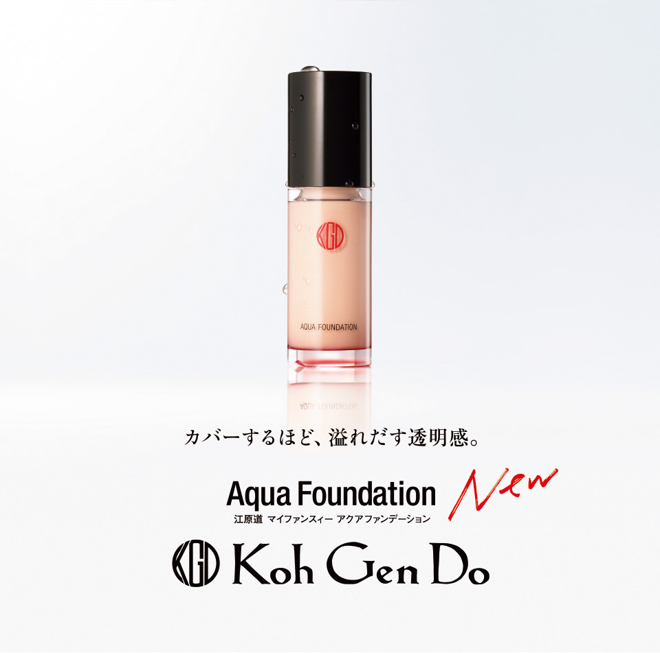 Koh Gen Do Aqua Foundation SPF25 PA++