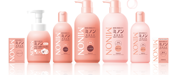 Minon Whole Body Shampoo Moist Type