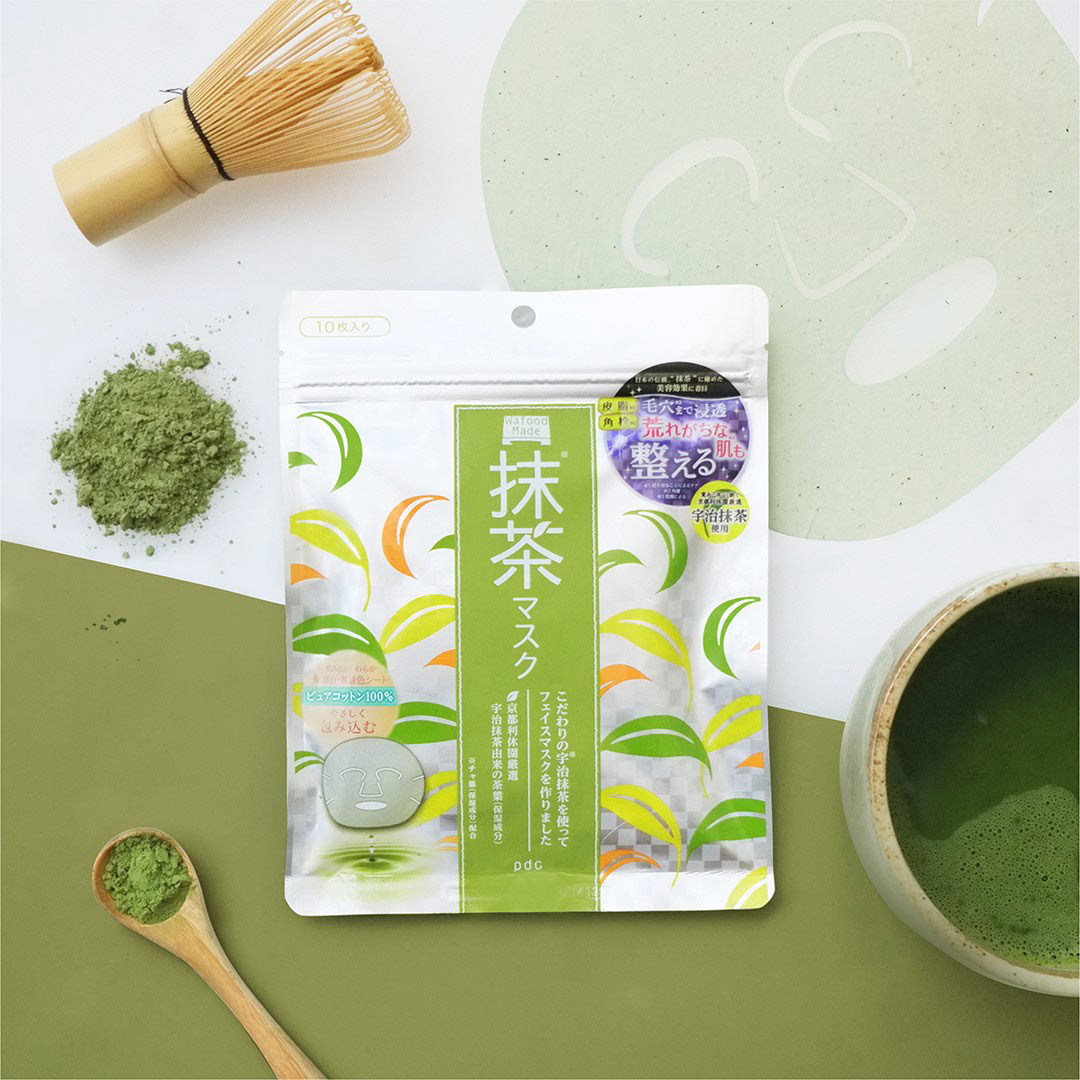 pdc Wafood Made Uji Matcha Sheet Mask