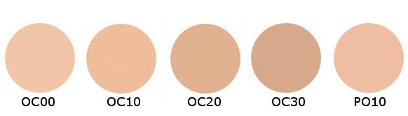 Shiseido d program Skin Care Foundation (Powdery) with Case