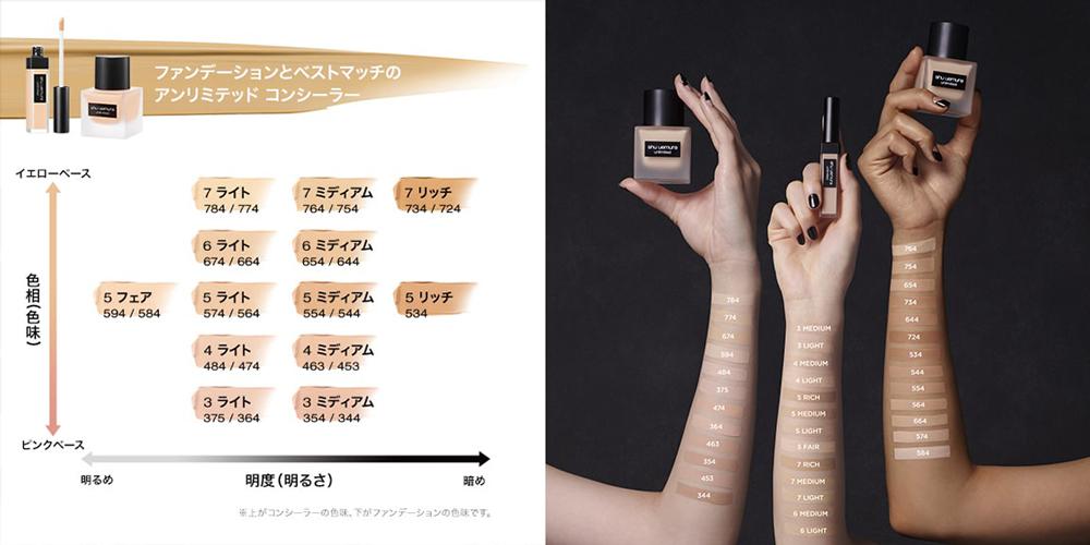 Shu Uemura Unlimited Concealer 7ml