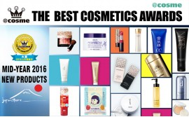 THE BEST COSMETICS AWARDS 2016 Mid-Year