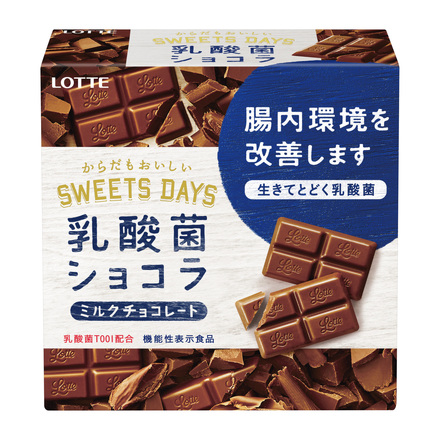 LOTTE Sweets Days Lactic Acid Bacteria Chocolate
