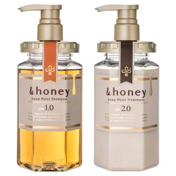 &honey Deep Moist Shampoo 1.0 / Hair Treatment 2.0
