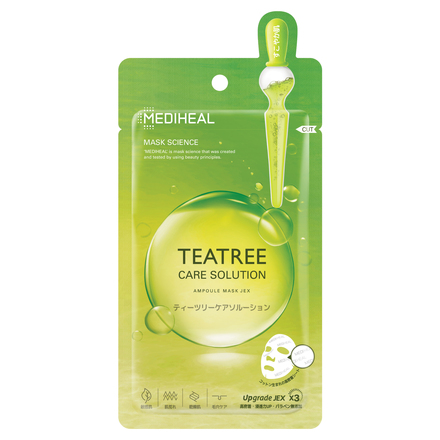 MEDIHEAL TEA TREE CARE SOLUTION AMPOULE MASK JEX