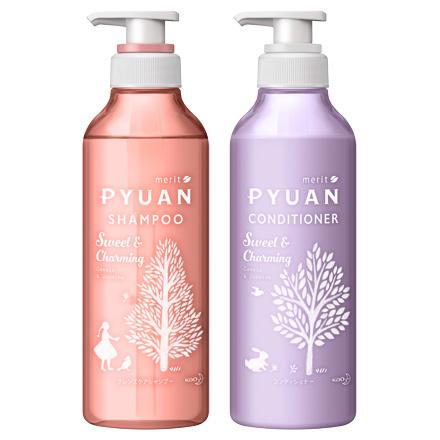PYUAN Sweet & Charming Shampoo / Conditioner