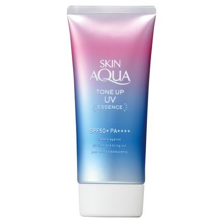 Rohto Skin Aqua Tone Up UV Essence SPF50+ PA++++