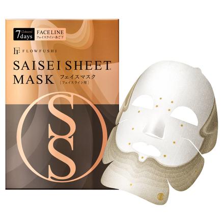 FLOWFUSHI Saisei Sheet Mask Face Line