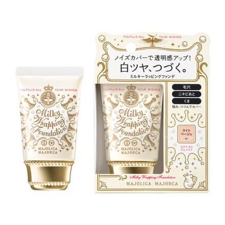 Shiseido Majolica Majorca Milky Wrapping Foundation SPF30 PA+++