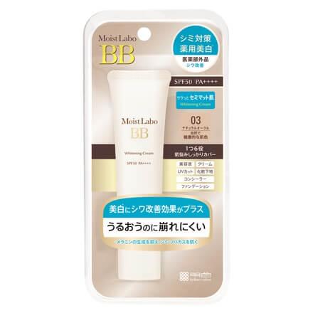 Meishoku Moist Labo BB Whitening Cream SPF50 PA++++